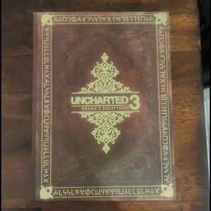 Uncharted 3 Guide Game hardbook